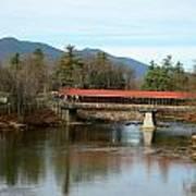 Saco River Covered Bridge Art Print