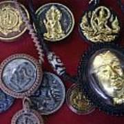 Sacred Amulets Art Print