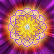 Sacred Geometry 110 Art Print