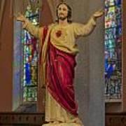 Sacred Heart Of Jesus Art Print