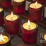 Sacrificial Candles Art Print