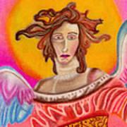 Sad Angel Art Print