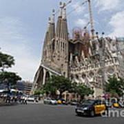 Sagrada Familia Barcelona Art Print