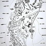 Saharawi Dance - Western Sahara Art Print