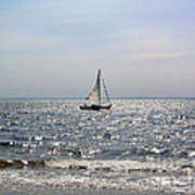 Sail Alone Art Print
