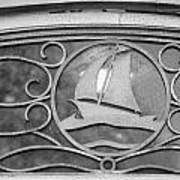 Sailboat On The Boathouse Art Print