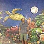 Sailfish Splash Park Mural 7 Art Print
