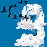 Sailing Cloud Nine Art Print