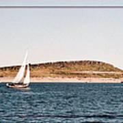 Sailing On Carter Lake Art Print