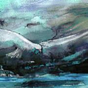 Sailing Over The Sea Art Print