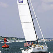 Sailing The Icw Art Print
