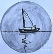 Sailing Thru The Night Art Print