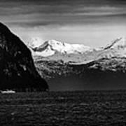 Sailing To Valdez Art Print
