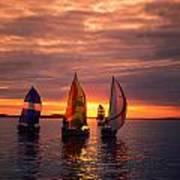 Sailing Yachts Art Print