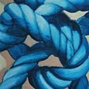 Sailor Knot 8 Art Print