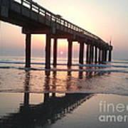Saint Augustine Beach Sunrise Art Print