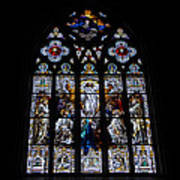 Saint Johns Stained Glass Art Print
