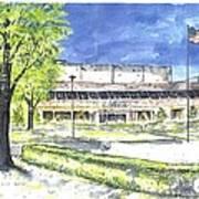 Saint Joseph Catholic High School Art Print