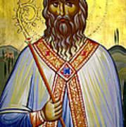 Saint Leolino Art Print by Artur Sula