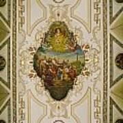 Saint Louis Cathedral Mural Art Print