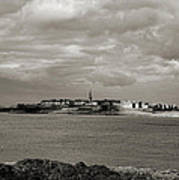 Saint-malo From Dinard. Art Print