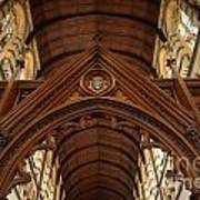 Saint Marys Church Interior 1 Art Print