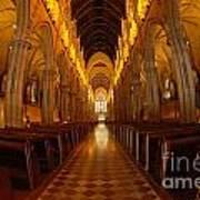 Saint Marys Church Interior 3 Art Print