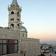 Saint Nicholas Church Beit Jala Art Print