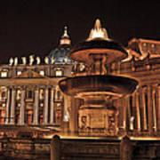 Saint Peter's Basilica Art Print