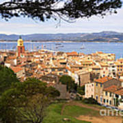 Saint Tropez 1 Art Print
