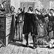 Salem Witch Trials, 1692-93 Art Print by Photo Researchers