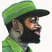 Samora Moises Machel Art Print