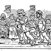 Samuel L. Clemens Cartoon Art Print