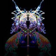 Samurai Bug Plant Art Print