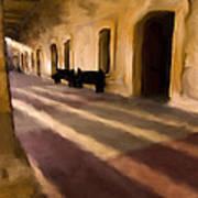 San Cristobal Shadows Art Print