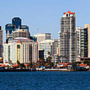 San Diego Buildings Photo Art Print by Paul Velgos