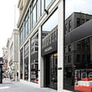 San Francisco - Maiden Lane - Prada Italian Fashion Store - 5d17800 Art Print by Wingsdomain Art and Photography