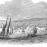 San Francisco Bay, 1849 Art Print