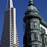 San Francisco Buildings Art Print
