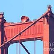 San Francisco Golden Gate Bridge . 7d7805 Art Print