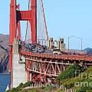 San Francisco Golden Gate Bridge . 7d8151 Art Print