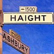 San Francisco Haight Ashbury Art Print