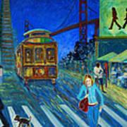 San Francisco Moments Art Print