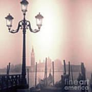 San Giorgio Maggiore Seen From Venice  Art Print