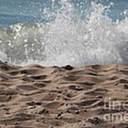 Sand And Surf Art Print