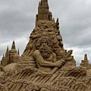 Sand Castles Art Print