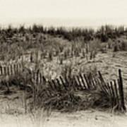Sand Dune In Sepia Art Print