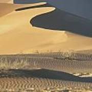 Sand Dunes In Namib Desert Art Print