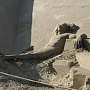 Sand Man Art Print