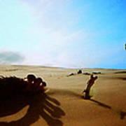 Sand Nature Near Oceon Art Print